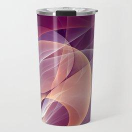 Temperament, Abstract Fractal Art Travel Mug