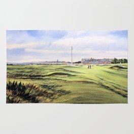 Royal Troon Golf Course Scotland Rug