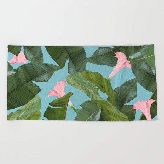 Wild Flower #society6 #decor #buyart Beach Towel