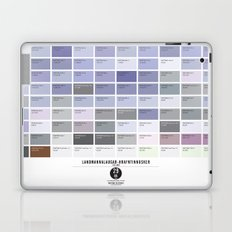 PANTONE glossary - Iceland - Landmannalaugar-Hrafntinnusker Laptop & iPad Skin