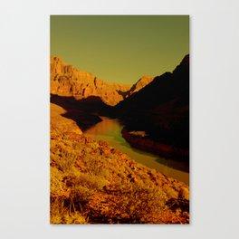 CowBoyLand Canvas Print