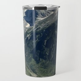 Hiking in the french Alps Travel Mug