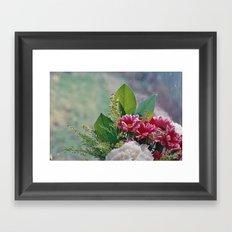 Pink Bouquet Framed Art Print