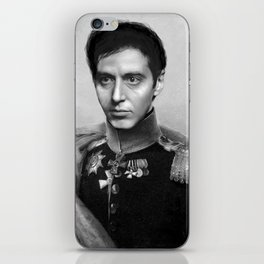 Al Pacino Scar Face General Portrait Painting | Fan Art iPhone Skin
