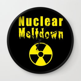 nuclear meltdown Wall Clock