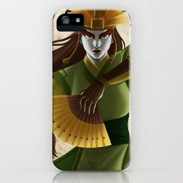 Avatar Kyoshi iPhone Case