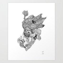 The Jokers Dream Art Print