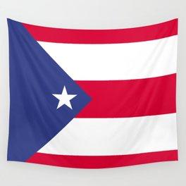 Puerto Rico flag emblem Wall Tapestry