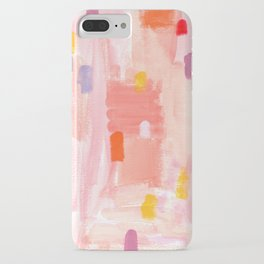 Put Sorrows In A Jar - abstract modern art minimal painting nursery iPhone Case