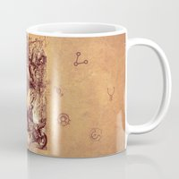 medieval Mugs featuring Medieval by TheMagicWarrior