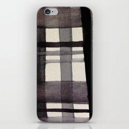 Painterly Plaid iPhone Skin