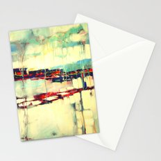 Warsaw III - abstraction Stationery Cards