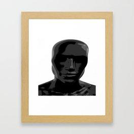 BLAK Framed Art Print