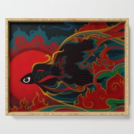 Fire fish Serving Tray