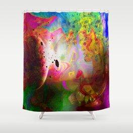 Abstract Art 2014-12-09 Shower Curtain