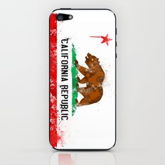 California Flag iPhone & iPod Skin