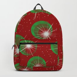 Sparkly Christmas Balls Backpack