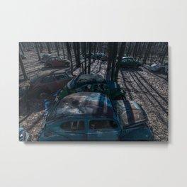 Dead Bugs Metal Print