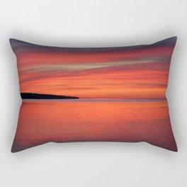 Sunrise on the Bay Rectangular Pillow