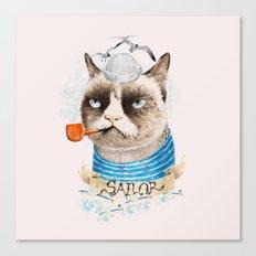 Sailor Cat VIII Canvas Print