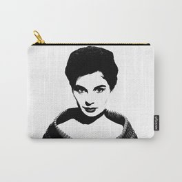 Jean Simmons Is Class Carry-All Pouch