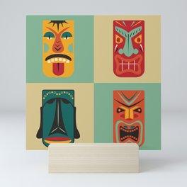 MCM Tiki Friends Mini Art Print