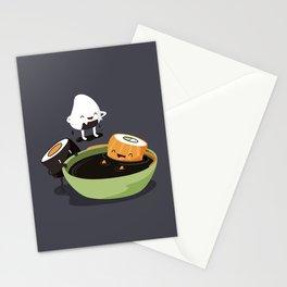Sushi Bath Stationery Cards