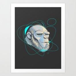 Ape Introspection Art Print