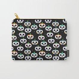 Sugar Skull Pumpkins Carry-All Pouch