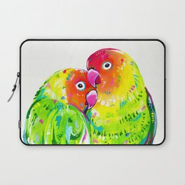 Love Birds Laptop Sleeve