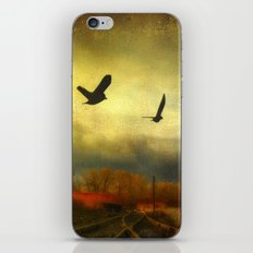 Flight Of The Blackbirds iPhone & iPod Skin