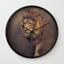 King of The Pride Wall Clock