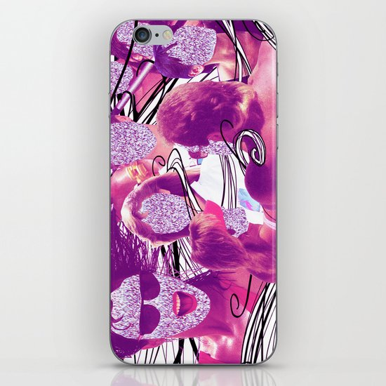 """Hair"" by Cap Blackard iPhone & iPod Skin"