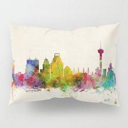San Antonio Texas Skyline Cityscape Pillow Sham