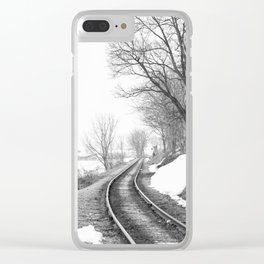 Down the line Clear iPhone Case