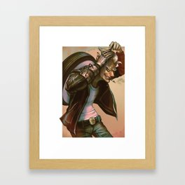 1900 junkrat Framed Art Print