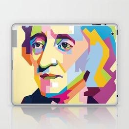 John Locke in Pop Art Portrait Laptop & iPad Skin