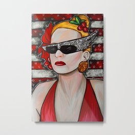 Joanna Stayton - Overboard  Metal Print