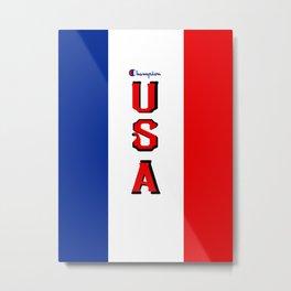 Champion Usa 2 Metal Print