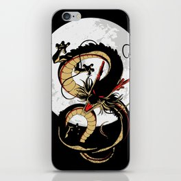 Black Dragon iPhone Skin