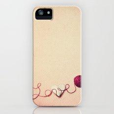 Love Heart iPhone (5, 5s) Slim Case