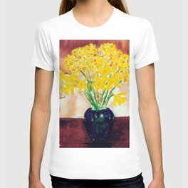 Daffodils  and Jonquils             by      Kay Lipton T-shirt