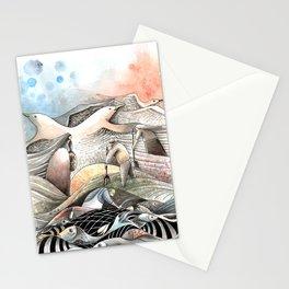 Entre terre et mer Stationery Cards