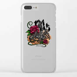 Scorpio - Zodiac Clear iPhone Case