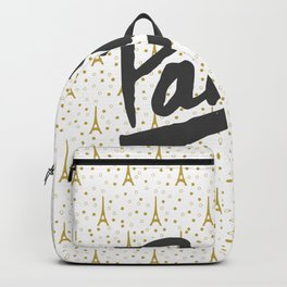 Paris Sparkle Backpack