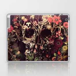 Bloom Skull Laptop & iPad Skin