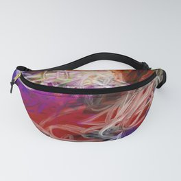 Rainbow Abstract Fanny Pack