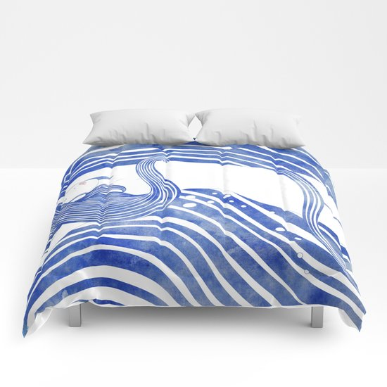 Water Nymph LXI Comforters