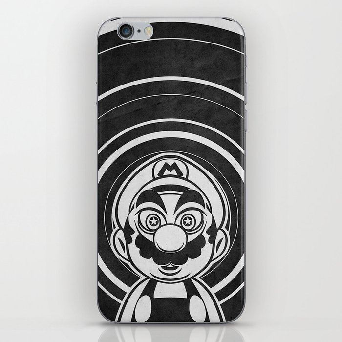 Super Trippin Bros. Mario is All Stars. iPhone Skin
