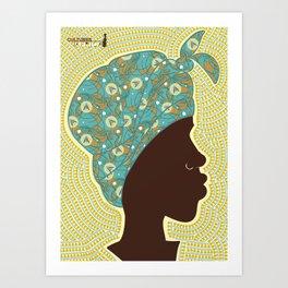 Cultures: AFRICA Art Print